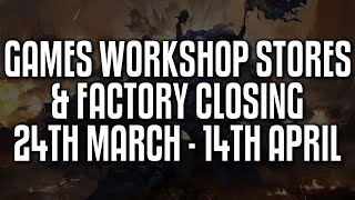 Games Workshop Stores And Factory Closing