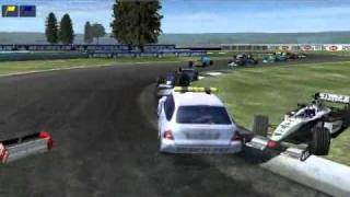 F1 crash compilation 2002 Medical car (HD)