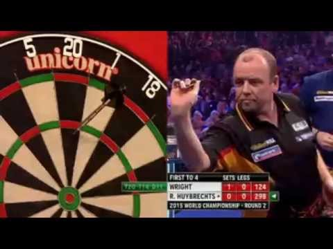 PDC World Darts Championship 2015 - Second Round - Wright vs R Huybrechts