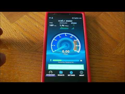 Oneplus Wind Mobile Test With Open Signal App