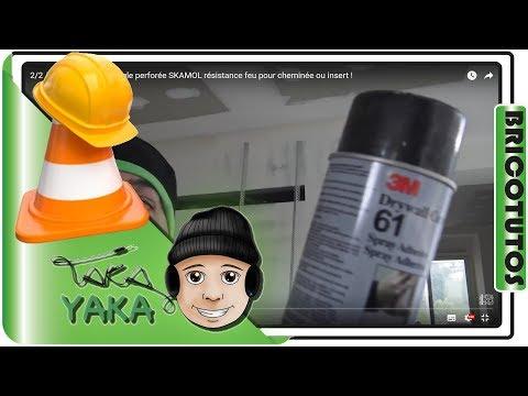 2/2 ⏩ Collage cornière et bande technique au spray adhésif Drywall Corner Bead 61 de 3M !