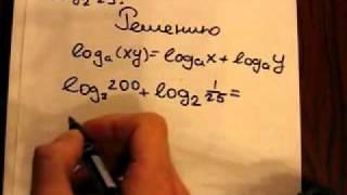 ЕГЭ математика В7. Найдите значение выражения