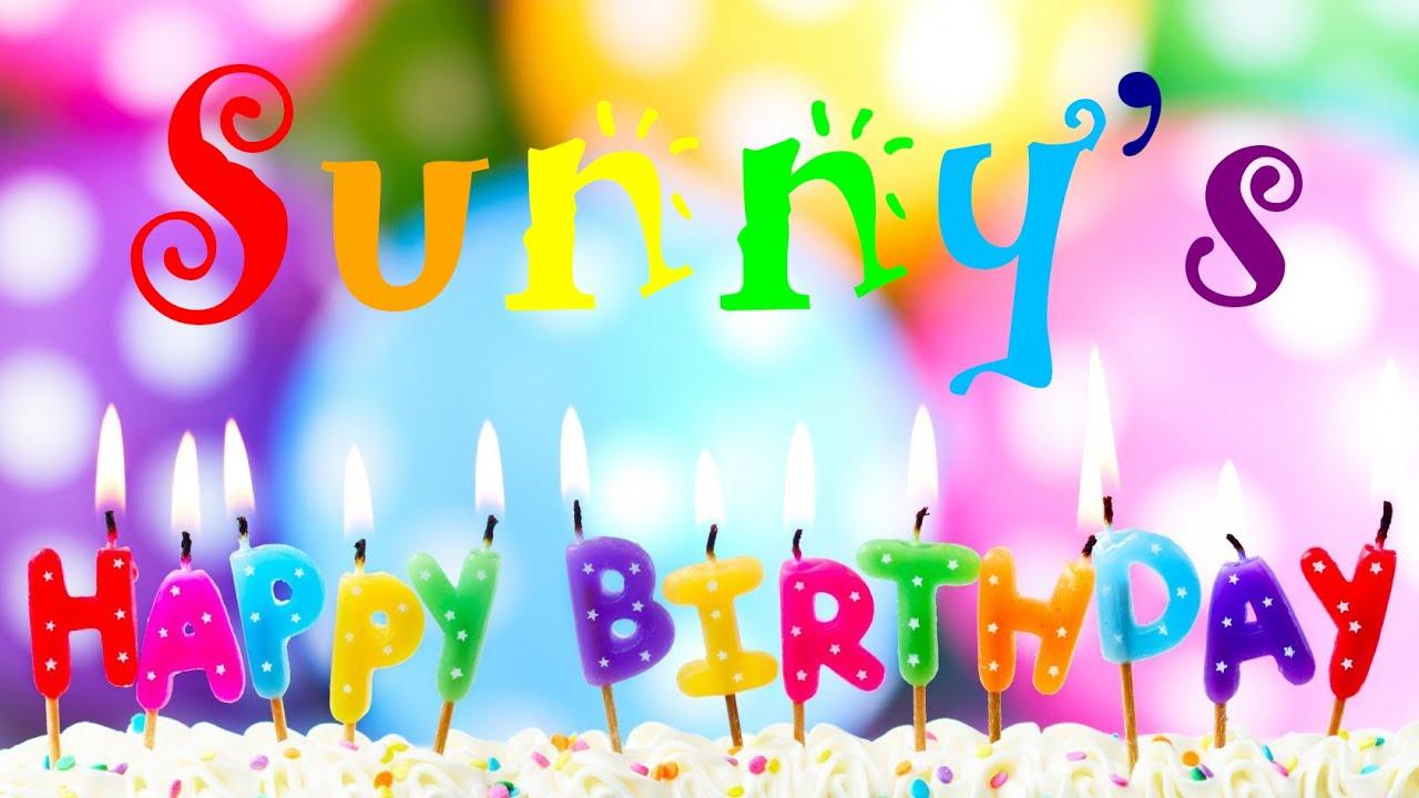 happy birthday awesome sunny!