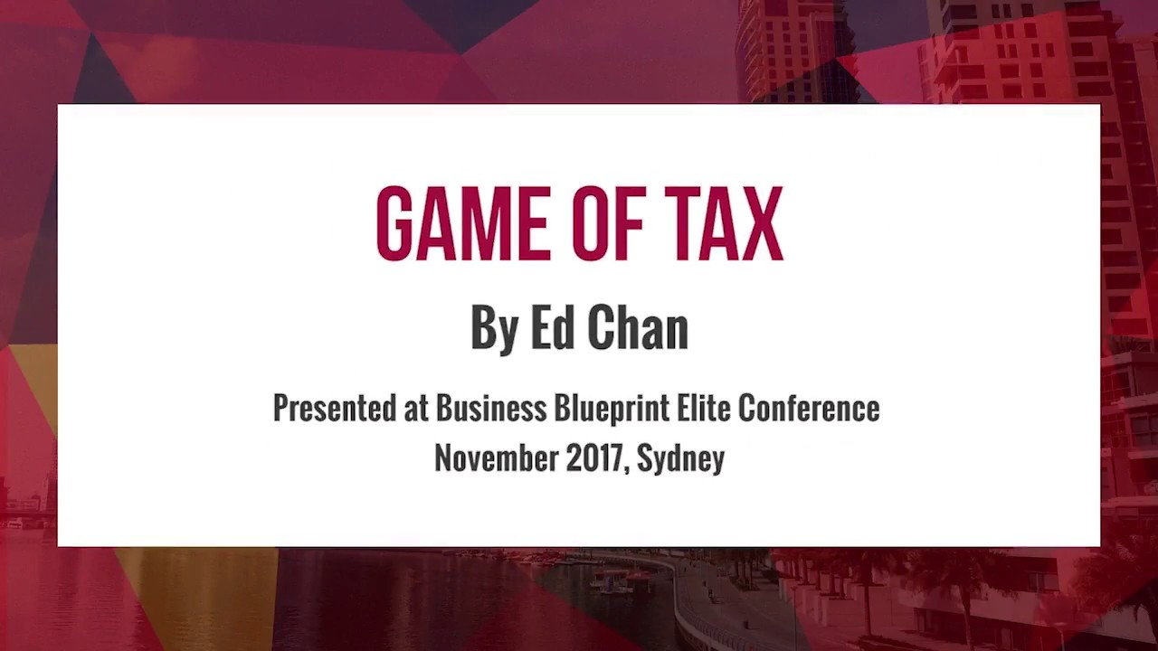 Game of tax by ed chan youtube malvernweather Images