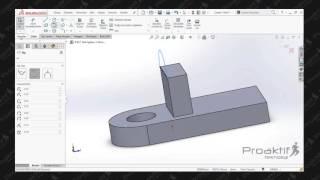 SolidWorks Parça   76  Uygulama 1