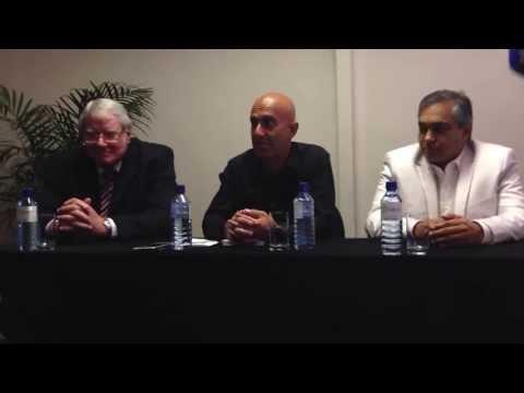Robin Sharma Durban South Africa  July 2013 - media session