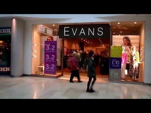 Highcross Shopping Centre Leicester Video