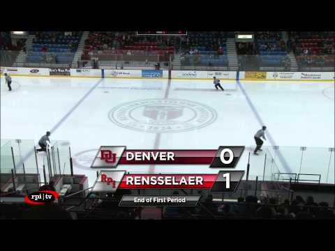 RPI Men's Hockey vs. University of Denver - Commentary by ESPN Radio Denver