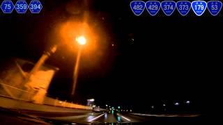 深夜の国道179号を等速ドライブ 4of6