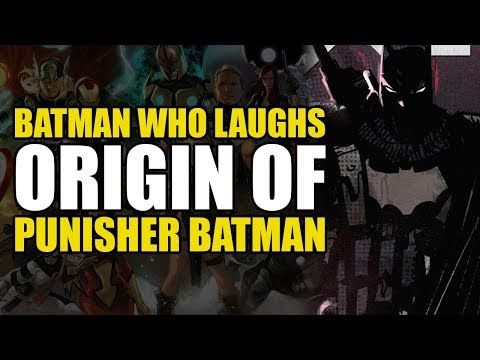 The Origin Of Punisher Batman! (The Batman Who Laughs: The Grim Knight - Tie In)