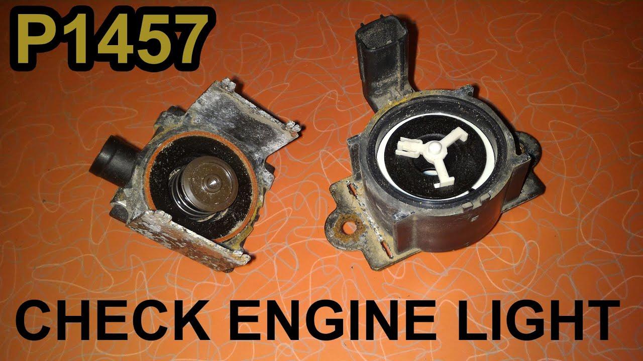 P1457 evap leak diagnosis and repair for free honda acura shut valve purge valve