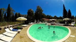 Piscina - Camping Flumendosa di Santa Margherita a Pula, Cagliari, in Sardegna - Video 360