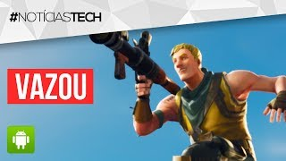 VAZOU! Data EXATA de LANÇAMENTO do FORTNITE no ANDROID