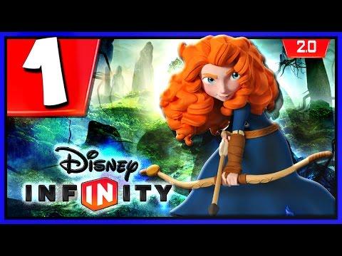 Disney Infinity 2.0 - Merida  Gameplay | Brave Forest Siege Part 1