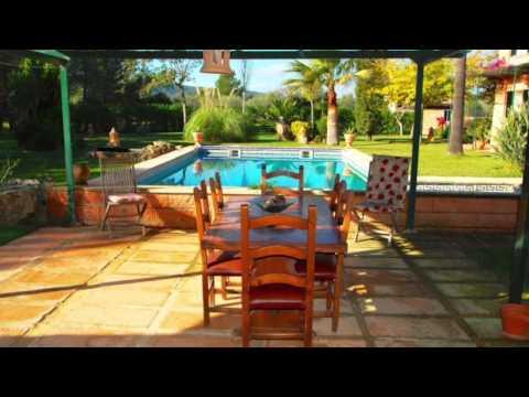 Beautiful country house with a fantastic garden in Santa Maria, Mallorca