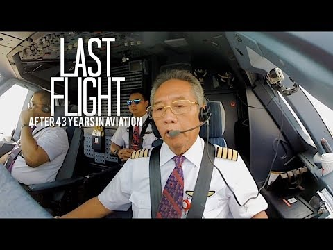LAST FLIGHT AND RETIREMENT CEREMONY CAPT WIDAYANTO