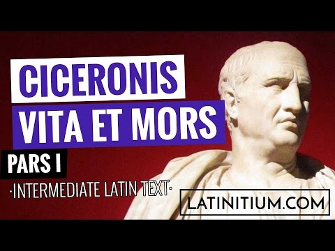 Latin texts – The life and death of Cicero | Learn Latin | #20
