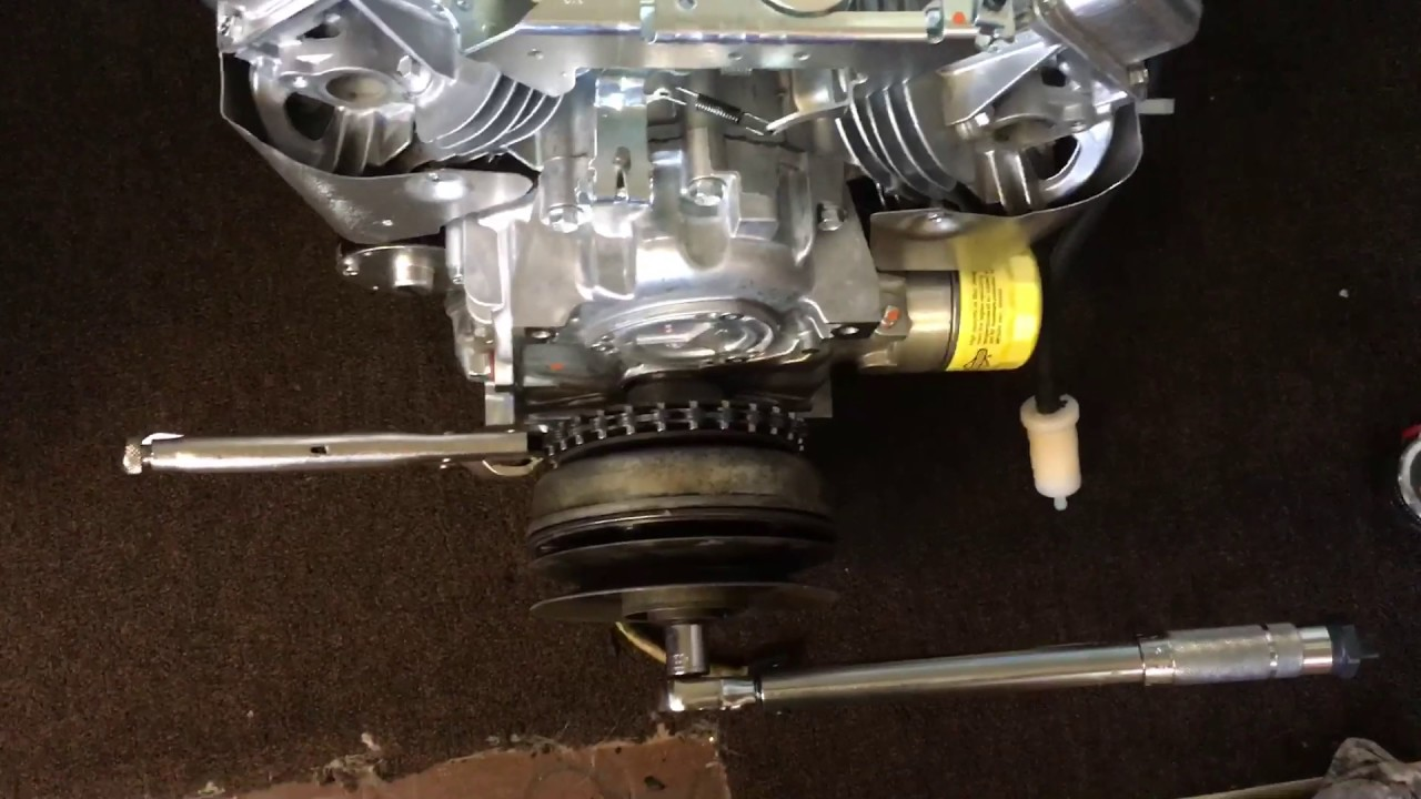 11 Hp Briggs And Stratton Wiring Diagram Pto Clutch Installation On Vertical Shaft Engine Youtube