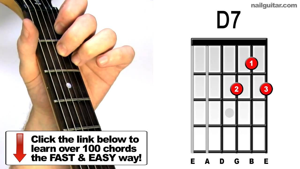 D7 - Nail Guitar Skill...