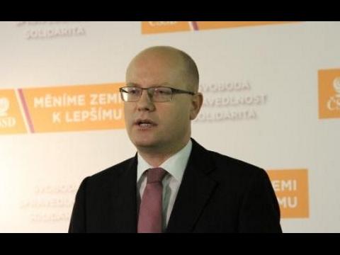 B. Sobotka na TK ČSSD k progresivnímu zdanění