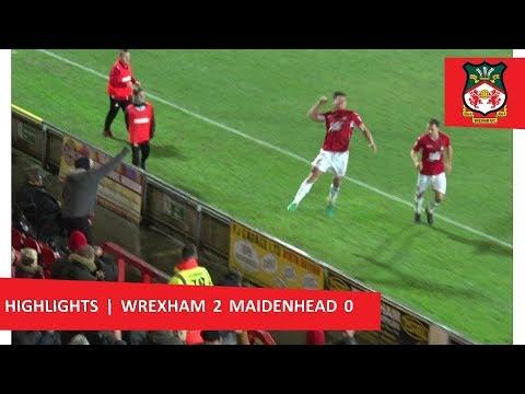 Wrexham 2 Maidenhead United 0