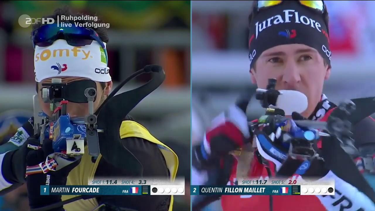 Biathlon Verfolgung Ruhpolding