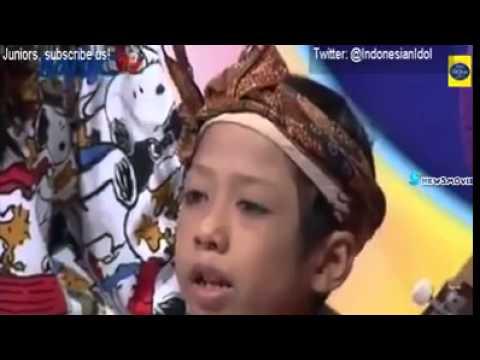 Sedih bak unk.. junior idol indonesia..