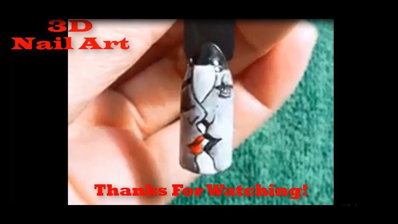 Very Easy 3D Landscape Painting For Newbies #3 – Cách Vẽ Tranh Phong Cảnh Cực Dễ – 3D nail Art