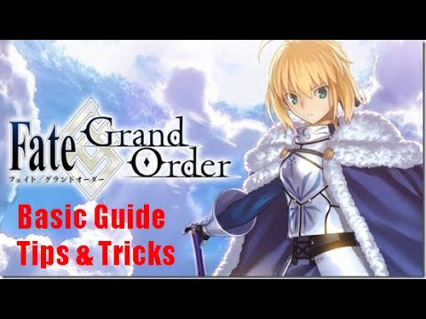Fate Grand Order English Beginner Guide With Tips And Tricks