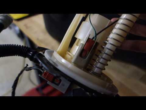 C6 Corvette fuel level sender sensor B replacement p2066