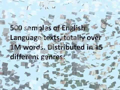 BROWN CORPUS (Computational Linguistics).wmv