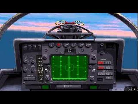 F-14 vs F-16 Dogfight (1994 Fleet Defender)  