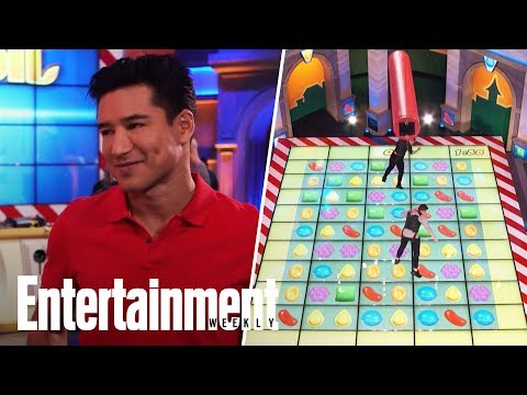 Mario Lopez Lets Us Try The Candy Crush Game Show And We Crushed It   Entertainment Weekly