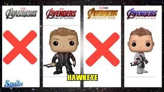 Original Avengers Funko pops | The Avengers - Avengers Endga...