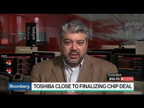 Toshiba Close to Finalizing Deal for Chip Unit