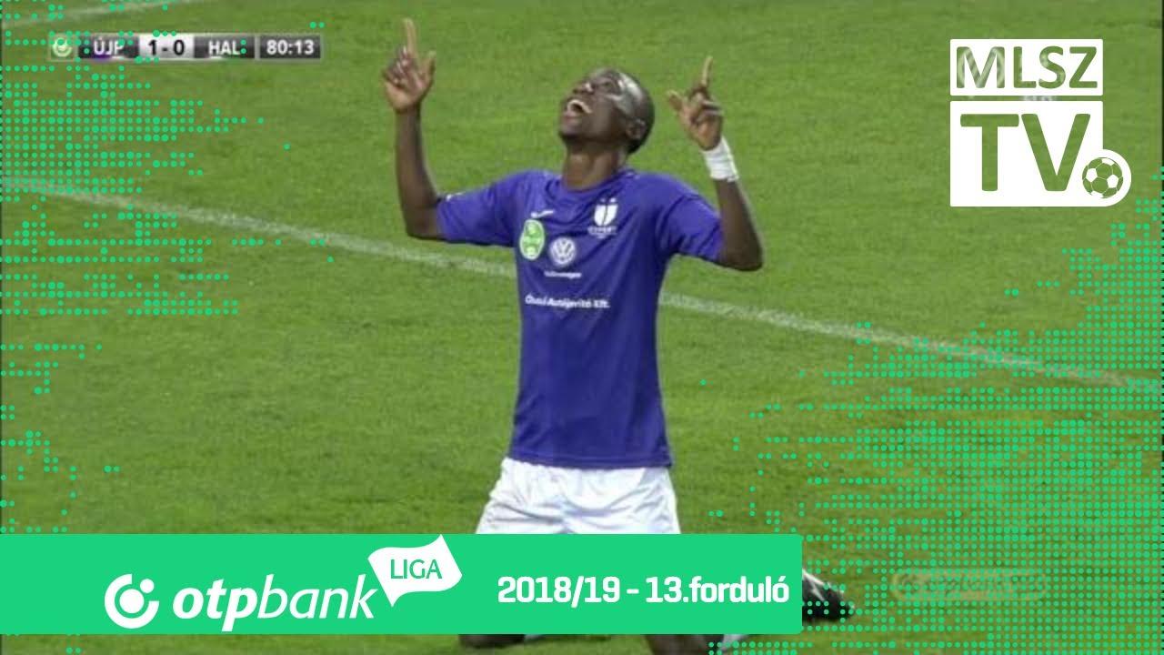Nwobodo Obinna Emmanuel gólja az Újpest FC - Szombathelyi Haladás mérkőzésen