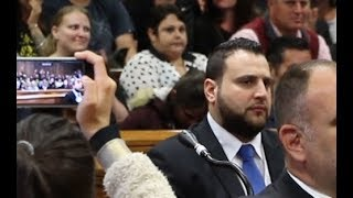 The moment Panayiotou is sentenced to life behind bars