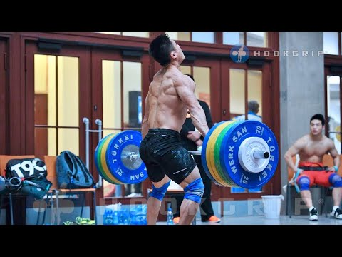 Chinese weightlifting training camp | Part 1