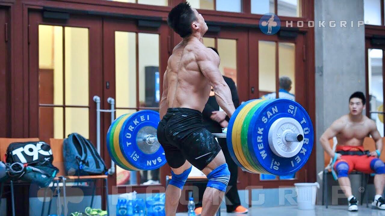 a0b61f0d9dcb Chinese weightlifting training camp