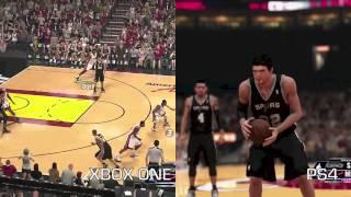 NBA 2K14 PS4 Vs Xbox One Game DVR Comparison