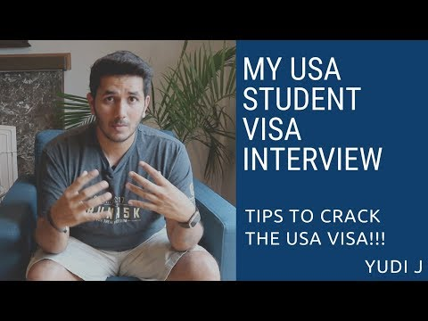 My USA Student F1 Visa Interview | Tips To Crack US Student F1 Visa Interview | MS In USA | Yudi J