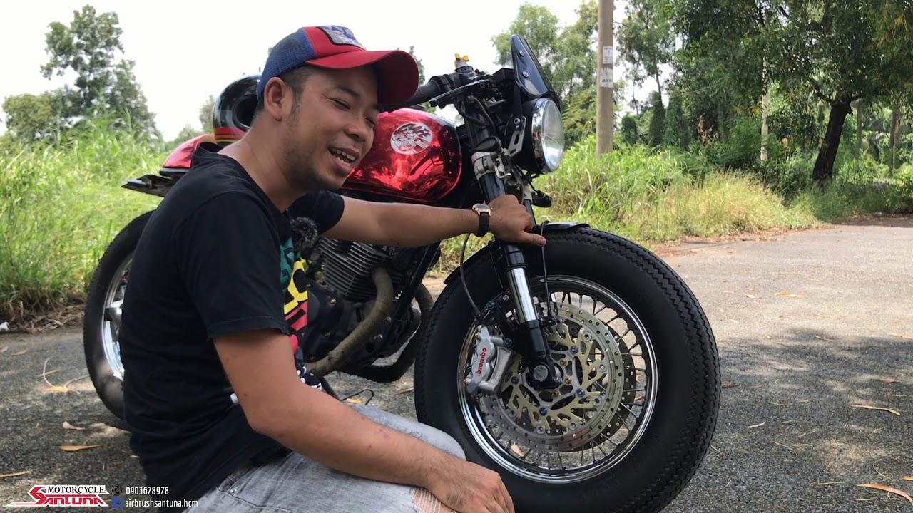 Honda CB Độ Cafe Racer - Con Xe Mơ Ước Có Được Đầu Tiên Của Mr Ken 6789
