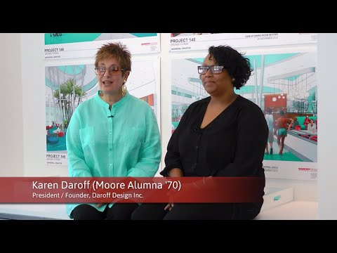 Alumna & Student Working in Harmony // Karen Daroff '70 & Shakira Hunt '15