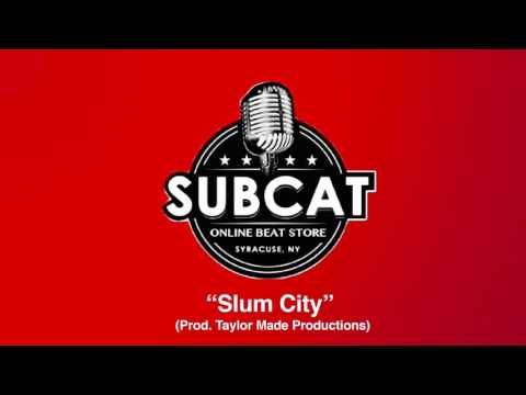 Slum City (Prod. Taylor Made Productions) Instrumental