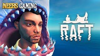 Raft Survival Simulator - Shark Head Face