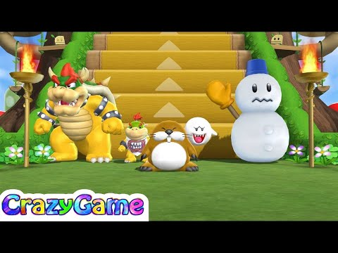 Mario Party 9 Step It Up #55 (Free for All Minigames)