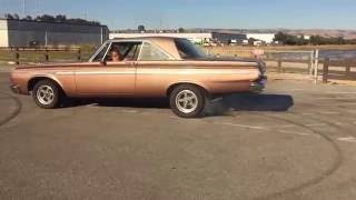 64' 413ci Plymouth Fury Burnout