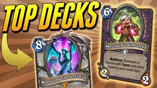 Top 9 Decks for Wild in Descent of Dragons