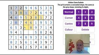 Find that Shape! Hidden Clone Sudoku