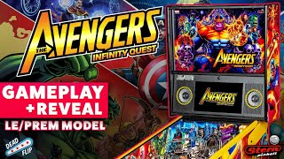 Avengers Infinity Quest Pinball Reveal From Stern Pinball!